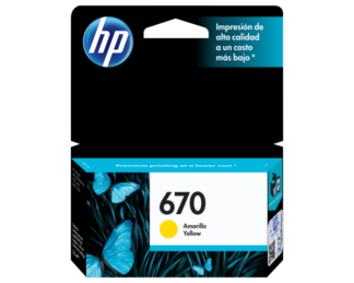 hp 670 amarillo